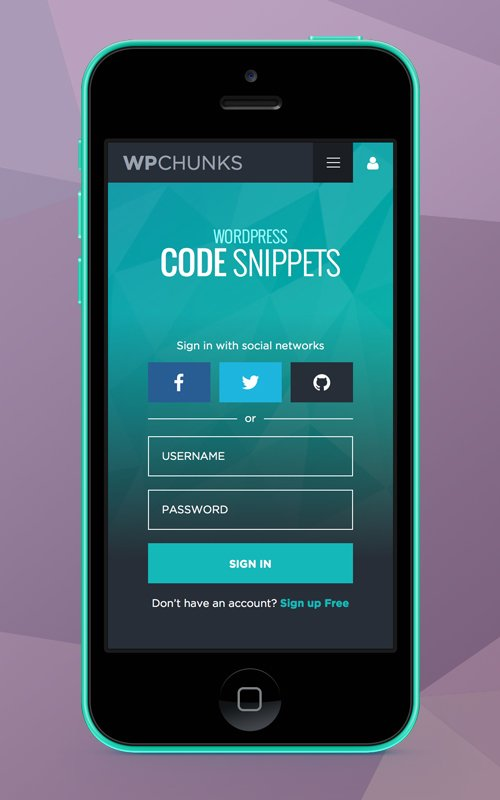 WPChunks by FazeDesigns